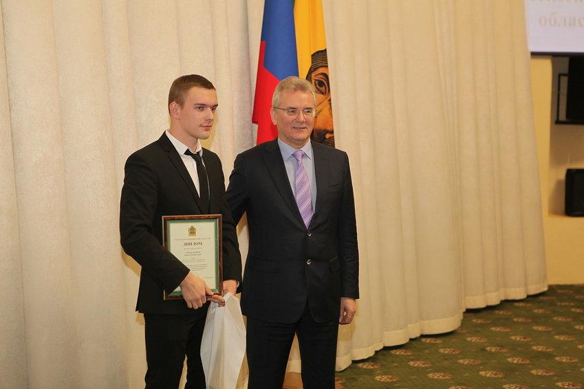 Лауреат премии губернатора Пензенской области